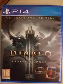 PS4 games diablo reaper of souls