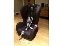 Britax Duo Plus Car Seat in Black Thunder - Excellent Condition