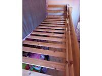 Shorty cabin bed frame