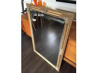Gold Chelsea Mirror 28 x 40 in / 72 x 102 cm