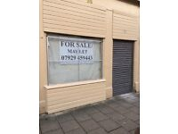 STORE/SHOP FOR SALE, YORKHILL GLASGOW.