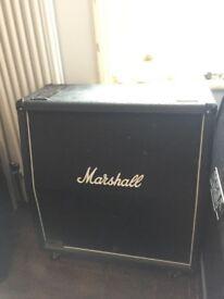 Marshall 4x12 1960a Lead speaker cab