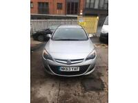 Vauxhall Astra 1.7 cdti eco flex, ex mod immaculate condition 70k ( stolen recovered cat d )