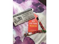 2x WEEKEND V FEST CAMPING TICKETS FOR SALE
