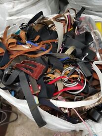 Second hand used belts £1 a kilo