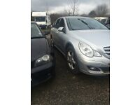 MERCEDES R CLASS R320 SPORT 2987CC DIESEL AUTO 2008 BREAKING FOR SPARES AND REPAIRS