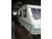 Craftsman 4 berth caravan