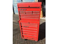 """Snap,on used tool chest box stack 26"""" top box up and over"""