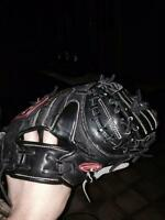Wilson A2000 and Rawlings HOH catchers glove