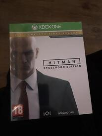 Steel book edition HITMAN sealed