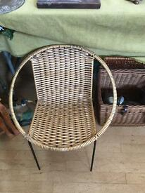 Gorgeous retro child's seat