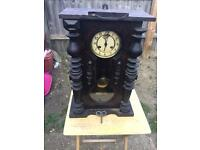 An antique clock