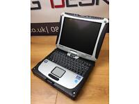 Panasonic Toughbook CF19 Intel i5 8GB RAM 128GB SSD Windows 10 Laptop +Tablet RRP £1700+
