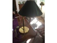 ANGLEPOISE LAMP AND SHADE