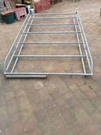 Rhino galvanised roof rack for Vaxhaul turbo van