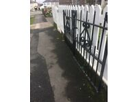 Extremely Well Built, Solid Steel Driveway Gates / Can Deliver - W-R