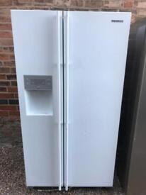 Samsung American fridge freezer with water and ice dispenser