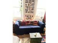 1 month 18th march ZONE 1 Large cosy room with a sofa and desk space. Nice house with good vibes.