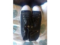 River Island High Tops - Brand New converse style