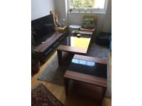 3 piece set: tv cabinet + coffee table + side table