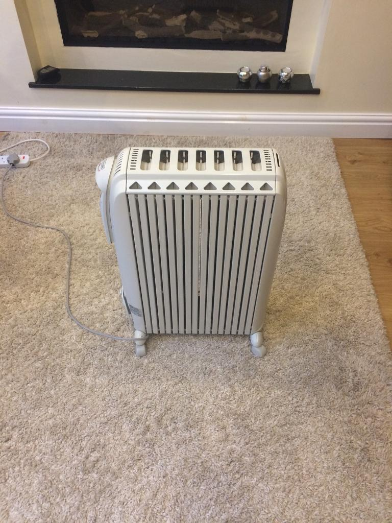 Oil filled portable heater