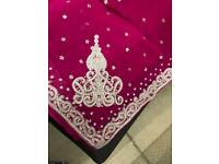 Brand NEW heavy bead and diamanté embroidery