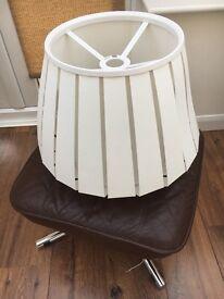 Beautiful White Lampshade