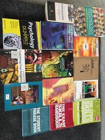 Psychology or study books (mixture) can split
