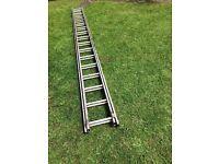 Double aluminium ladders good condition no longer need swap cordless drill