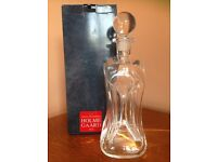 Holmegaard (Denmark) glass decanter by Jacob Bang