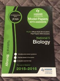 Biology National 5 Past Paper