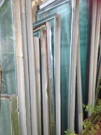 17 panes used glass /allotment maybe