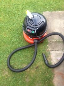 Henry Hoover 110volts for site work