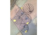 5 Hanging Baskets 12 inch Unused £7.50 the lot