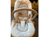 Mama and papa bouncy seat