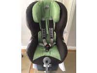 Britax safefix plus TT car seat- green- £50 ovno