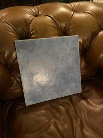 Free - 6 large blue tiles 32 squared