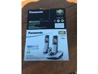 Panasonic cordless phone + Router