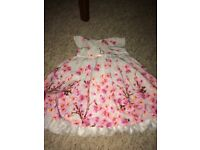 Baby girl M&S beautiful occasion dress 3-6 m