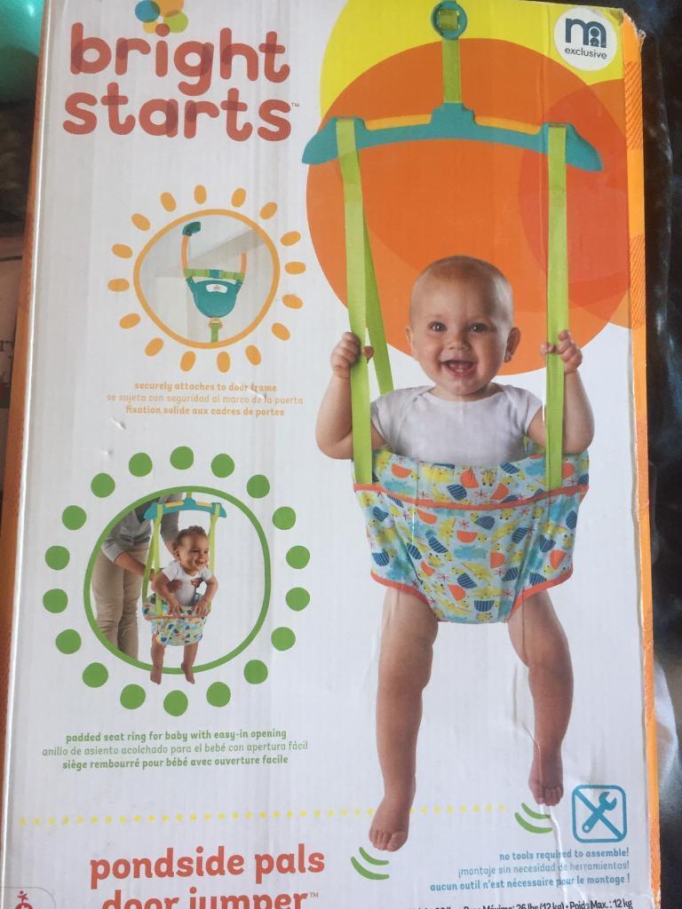 Baby door bouncer/jumper