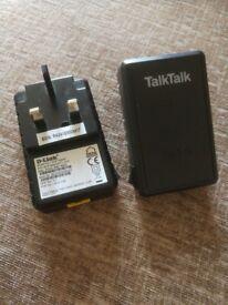 Talk talk power line adaptors.