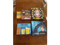 Collection of quiz board games