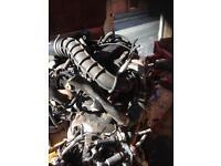 Ford transit dura torq 2.0 lt engine compleet
