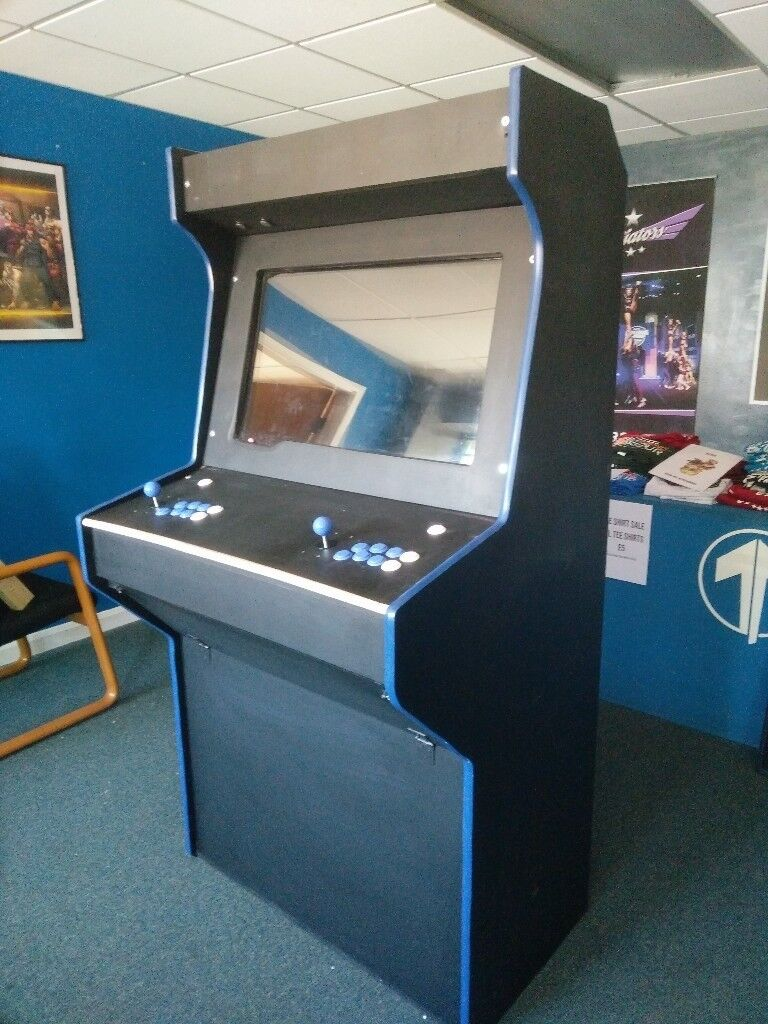 Custom Upright Arcade Cabinet, Retropie, 2 Player, 32 Inch TV screen -  Ready to Play | in Leeds, West Yorkshire | Gumtree