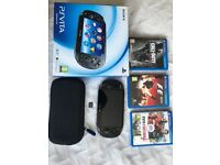 PS VITA BUNDLE FIRMWARE 3.50 WITH GAMES AND MEMORY CARD