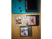 Gameboy colour x 2 with 3 games