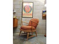 Vintage Ercol Mid Century Armchair