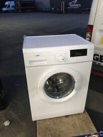 New graded Logik washing machine 9K 130£ And New fridge freezer and second hand singel bed free