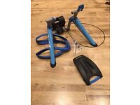 Tacx Booster Ultra High Power Folding Magnetic Trainer Blue One Size