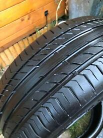 Continental Sport SSR Contact 5 Tyre, only done approx 100 Miles